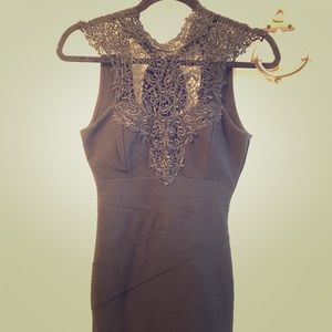 Form fitted ♣️Black baroque♣️ dress